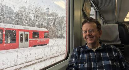 Davos Diary Day 1: Sub-zero, Cyril takes lead and the Concordia
