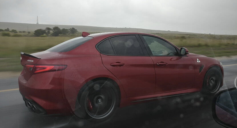 Alfa Romeo Giulia QV lands in SA