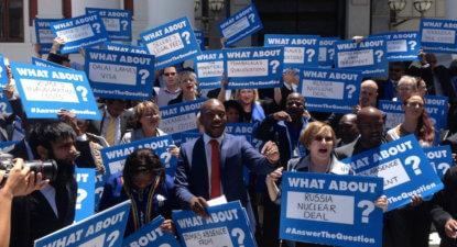 "DA's ""Stop Zuma"" 2009 election campaign; a telling reprise – Van Onselen"