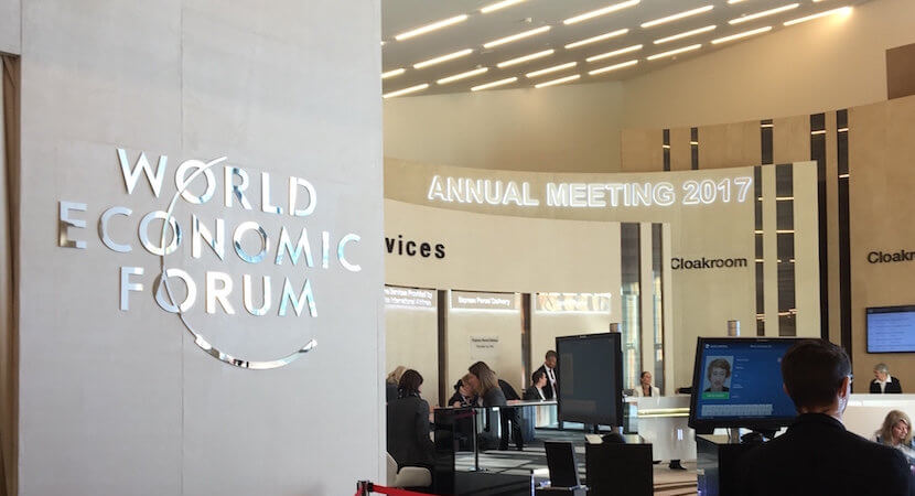 Davos Diary Day 5: It's a wrap, unguided missiles & 'polecattish' reversed