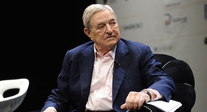 After bruising losses, can anyone buy George Soros views on 'con man' Trump?