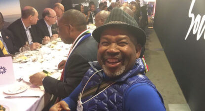 Jabu Mabuza: Great Team SA showing in Davos didn't happen by accident.