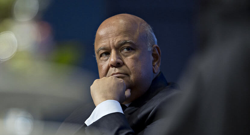 "Gordhan's ""Last Hurrah"" today?"