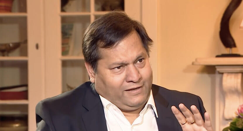 Guptas' new Swiss HQ: Empty office above violin store, yoga studio