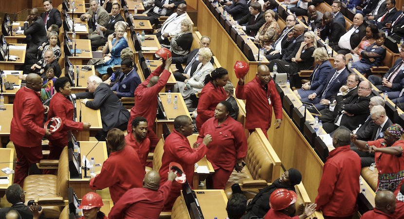 EFF Parliament