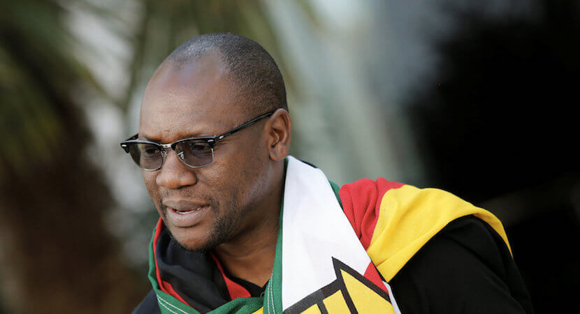 #ThisFlag protest leader returns home to Zim – and the slammer
