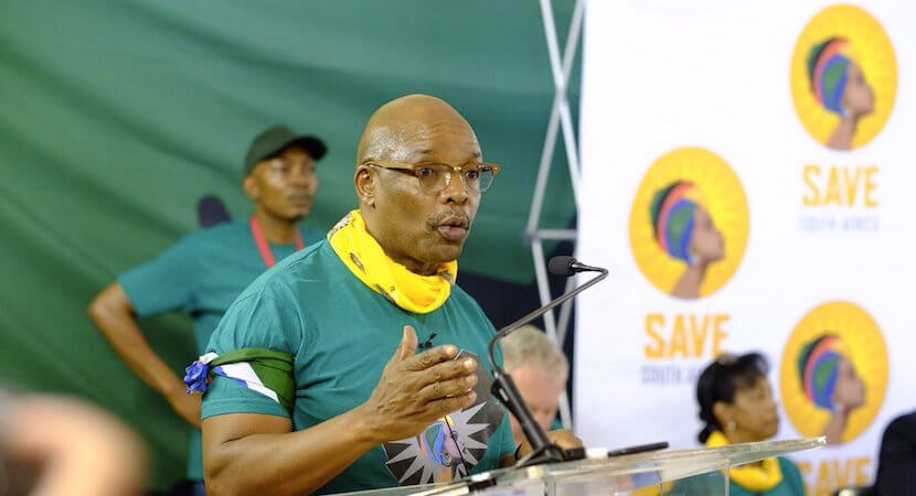 'Save South Africa' Chairman's impassioned pre-SONA speech