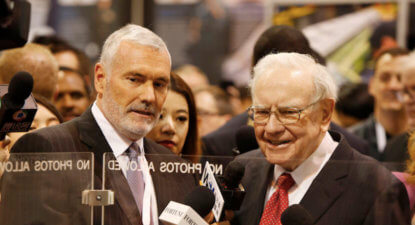 Is Warren Buffett strangling active asset managers by punting passive funds?