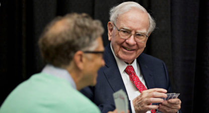 Buffett loads up on Apple, Berkshire increases stake to $46.6bn – The Wall Street Journal
