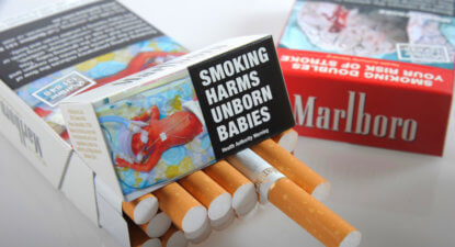 Cigarettes and plain packaging – new dataset says it works