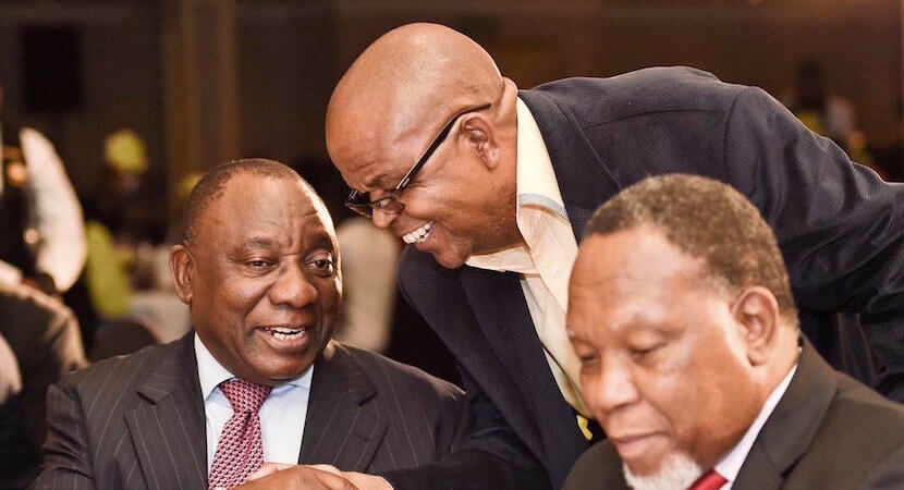 UPDATE: Ramaphosa wins most ANC branch nominations. Epic battle imminent.