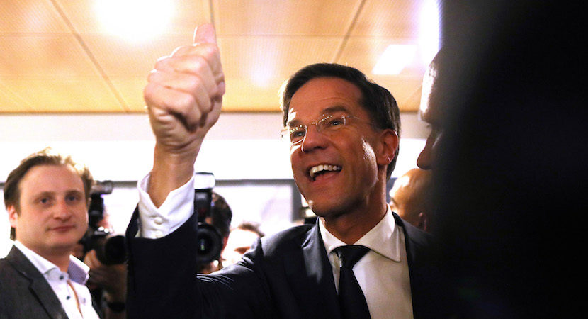 Better news from Holland, but too soon to call the end of Europe's uncertainty