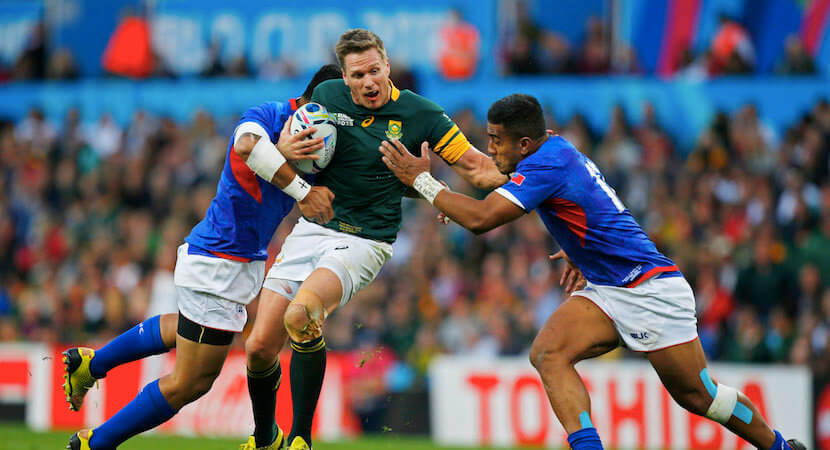 Bok jersey has lost some meaning, says Jean de Villiers