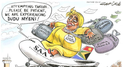 As losses mount, Dudu Myeni asks: What the devil is going on at SAA?