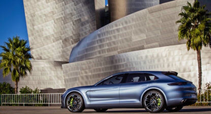 The Porsche Panamera goes station wagon in Geneva