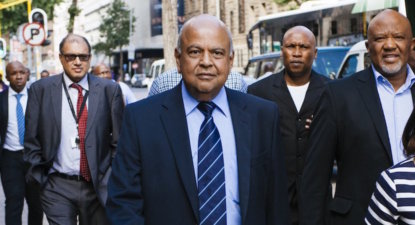 Gordhan backs Ramaphosa in global CNN interview
