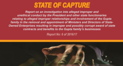 New report drives stake into heart of the State Capturers. Hope springs.