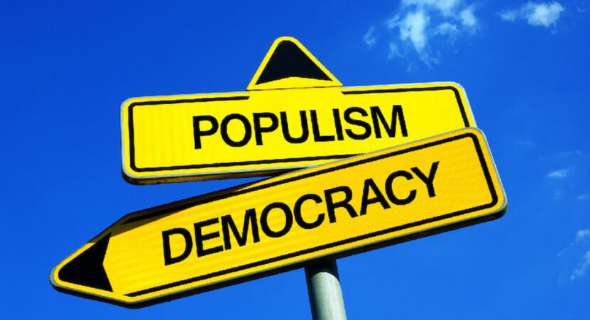 A disruptive populist wave washes across the world, from France to South Africa