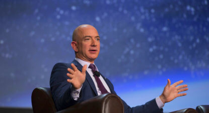 Soon Jeff Bezos will be world's richest man, taking Amazon shareholders with him for the ride