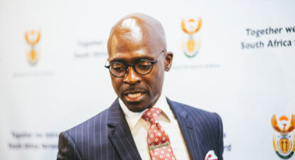 Open letter to the 'super-suit without substance', Minister Malusi Gigaba