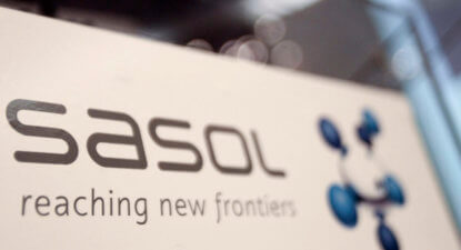 Stronger rand, tax litigation result in 15% earnings fall for Sasol