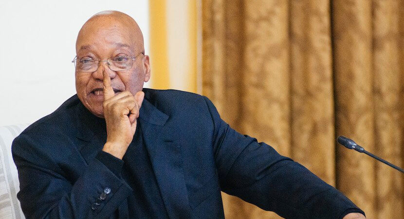 Is the Rand telling the truth? If so, Zuma is toast. Hope springs.