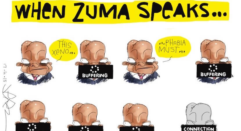 Zuma: 'God is on side of ANC. We cannot lose' – and 12 other times Zuma has minced his words