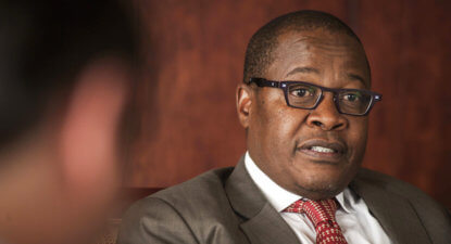 "Somersaults at Megawatt Park: Eskom's Molefe says, ""I was on unpaid leave"""