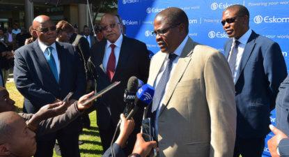 ANC wags finger at Zuma, demands Eskom scrap return of 'Papa Action' Molefe