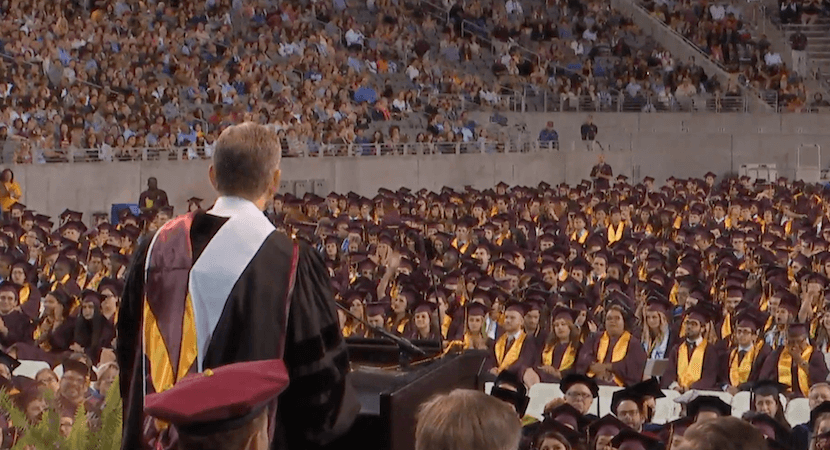 Ubuntu! Starbucks founder Howard Schultz's 2017 ASU Commencement Speech.