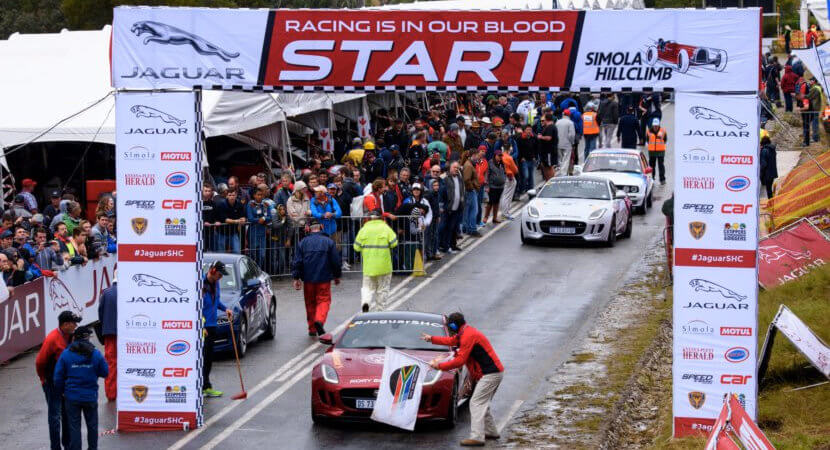 2017 Jaguar Simola Hillclimb to be broadcast live