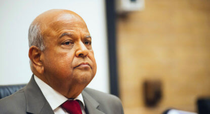 Best of 2017: Pravin targets Saffers working abroad: Lower tax to end; must pay full SA tax rates