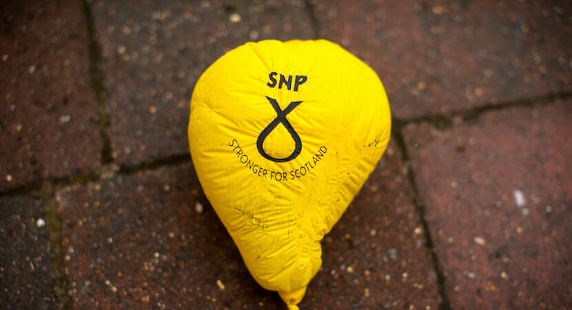 The Scotland vote: SNP, Tories in two-horse race to claim election victory north of border
