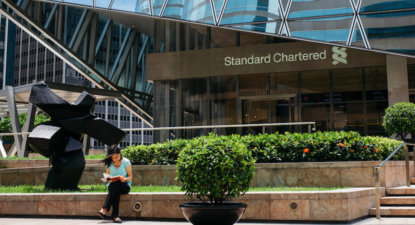 Another bank looks beyond London: Standard Chartered (STAN) to set up EU headquarters in Germany