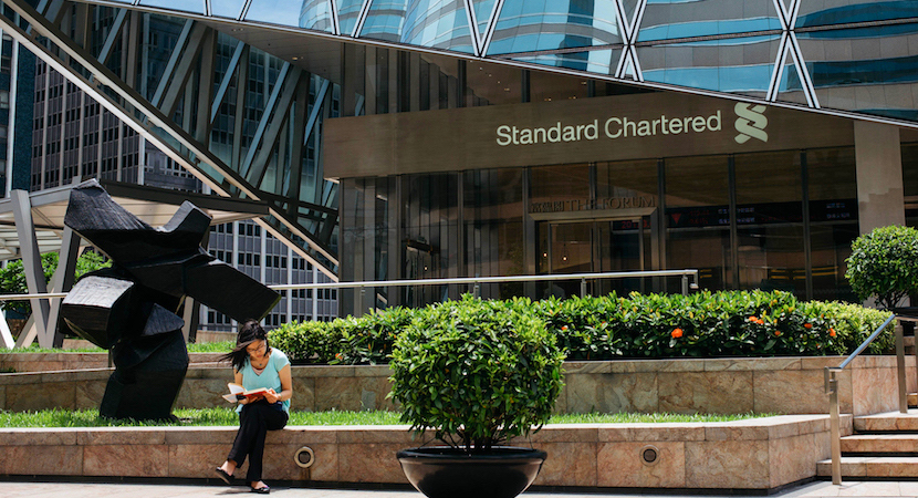 Standard chartered group headquarters london