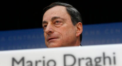 Rand spikes on ECB president Draghi's tapering comments, Brazil's unfolding crisis