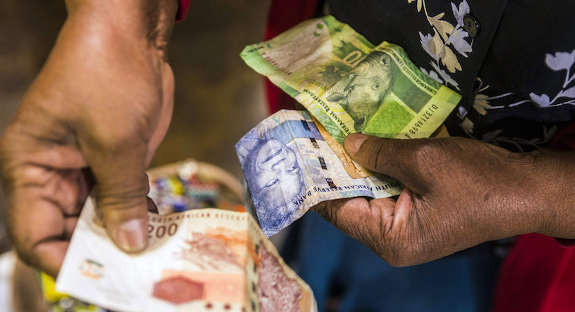 South Africa fell into recession, data show