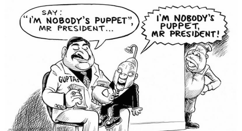 WORLDVIEW: Who is to blame for the Guptas? Maybe it's us.