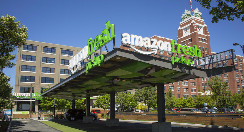 Next stop $2,000 a share as AmazonFresh accelerates its retail swamping tidal wave