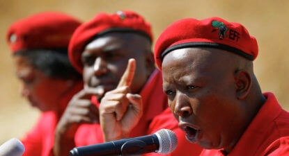 Dear Mr Malema, if you can win my Zurich land back, I'm out of here