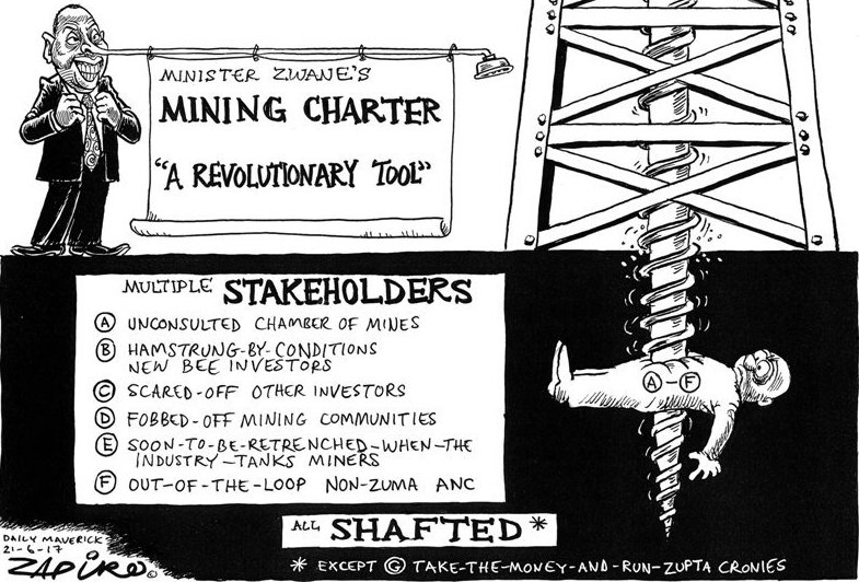 Chamber of Mines agrees to postpone mining charter court bid