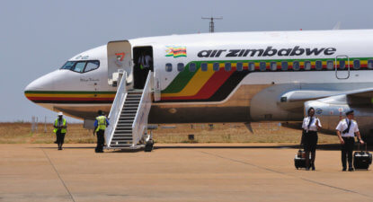 Future prospects for SAA? Near-bankrupt Air Zim cuts third of workforce