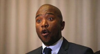 Maimane on the ANC's lack of political accountability