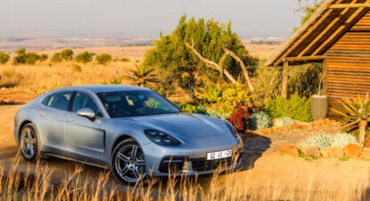 Porsche Panamera 4S – meet the new boss