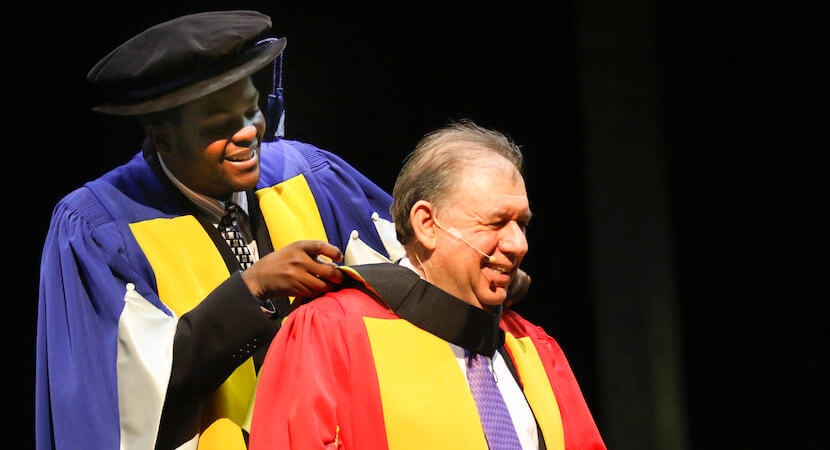 Koseff's honorary doctorate speech: 'SA must root out corruption, rebuild trust'
