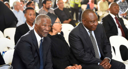 Thabo Mbeki Foundation lashes ANC's stance on land expropriation