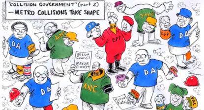 Looming SA coalition, no bed of roses – Shawn Hagedorn