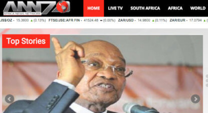 Warts and all: Pro-Zupta Manyi described as 'birthday present' for ANN7