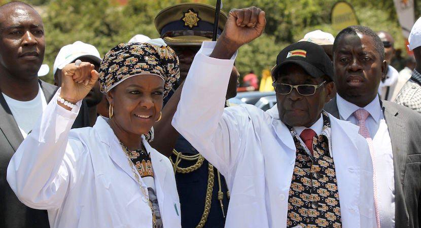 Grace Robert Mugabe