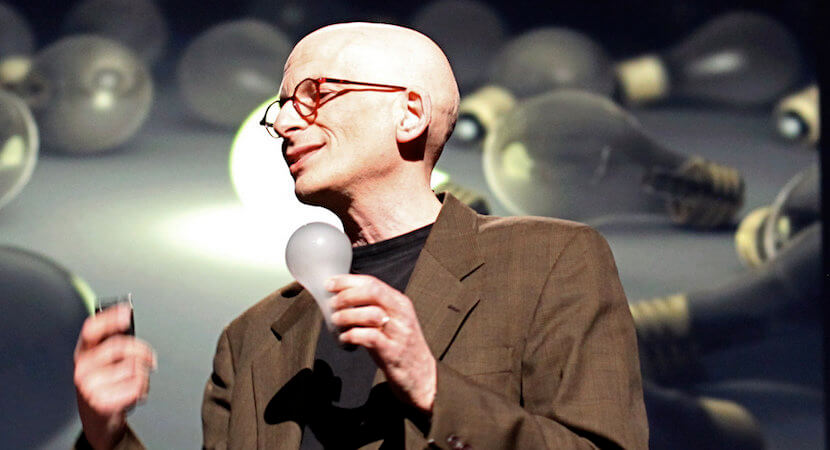 "WORLDVIEW: Seeing Seth Godin in person, hearing his ""think small"" message. Priceless."